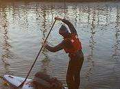 British Stand-Up Paddleboarder Embarking Expedition Down Lanka's Longest River