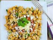 Skillet Mexican Hashbrowns with Scrambled Eggs Spicy Cilantro