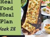 Real Food Meal Plan Week