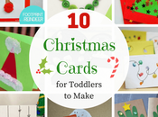 Easy Christmas Cards Toddlers Make