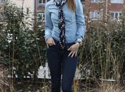 Teens Wear Blue Jeans.