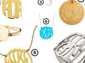 Look: Monogram Jewelry