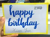 Roommate's Birthday
