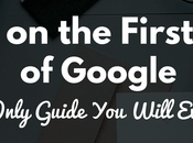 Rank First Page Google- Only Guide Will Ever Need [InfoGraphic]