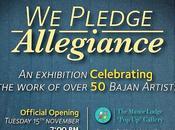 Pledge Allegiance Exhibition Feast Eyes!