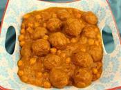 Meatball Chickpea Curry (Kofta Choley)