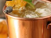 Brown Sugar Roasted Pineapple Moscow Mule