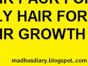 Hair Pack Oily Induce Growth Remove Dandruff