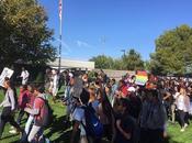 Organized Walkout High School