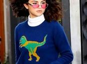 Celeb That: Selena Gomez Dinosaur Sweater from Coach