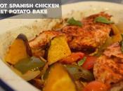 One-Pot Spanish Chicken Sweet Potato Bake
