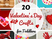 Easy Valentine's Crafts Toddlers