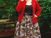 Star Wars Skirt, Rockabilly Style, Moonstone Magic Ring