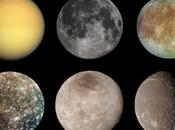 Largest Planetary Moons Solar System