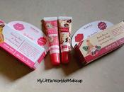 Launch Island Kiss Moisturizer Stain Flamingo Pink Peonies Black Rose Grenade Rouge Review Swatches