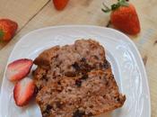 Strawberry Choc Chip Loaf Eggless Choco Bread
