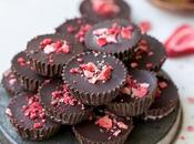 Chocolate Strawberry Cups (Gluten Free, Paleo Vegan)