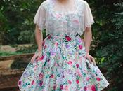 Floral Dress, Wardrobe Shop Shawl, Cupcake Dolls