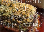 Pork Loin with Sage Applesauce
