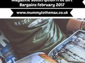Magazine Subscription Free Gift Bargains February 2017