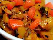 Kalonji Aloo Stir Fried Potato Onion with Nigella Seeds