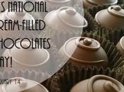 Happy #NationalCreamfilledChocolatesDay #February14 #ValentinesDay
