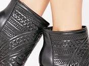 Shoe Missguided Quilted Peep-Toe Ankle Boots