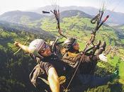 Traveling Europe Paragliding Austria