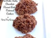 No-Bake Nutty Chocolate, Peanut Butter Oatmeal Cookies Recipe