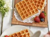 Fast Easy Yeasted Crispy Belgian Style Waffles with Yeasty Taste