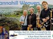 notloB Music Returns Roost, Tannahill Weavers Perform Harvard April