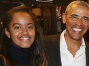 Daddy/Daughter Time: Barack Obama Malia Manhattan