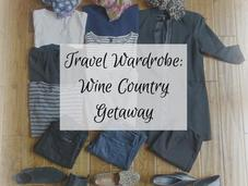 Travel Wardrobe: Days Napa Valley