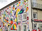 Colourful Mural Porto, Joana Vasconcelos