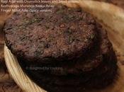 Ragi Adai with Drumstick Leaves- Rotti(Spicy Version)- Kezhvaragu MurungaKeerai Adai- Finger Millet