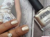 Nails Nykaa Champagne Gold from Rush Collection