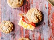 Whole Grain Biscuits Toppings Biscuit Buffet