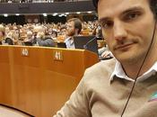 Heine Visiting European Parliament Report Stand Europe