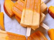 Creamy Mango Popsicles