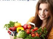 Best Foods Healthy Hair, Roots Scalp