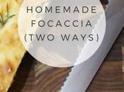 Recipe: Homemade Focaccia, Ways (Rosemary Seasalt Onion Feta)