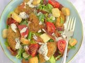 Fried Green Tomato Salad #SundaySupper