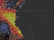 Colombia, Rain Bombs Climate Change Fell Dark Night