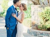 Romantic Destination Wedding Crete Elaina Anis