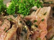 Ribeye with Olive Oil, Garlic, Parsley Rosemary (Tagliata)