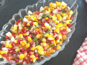 Sweet Corn Salad Refreshing Summer Snack