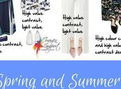 Spring Summer Looks High Value Contrast