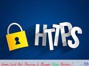 Https Green Lock Showing Blogger Version