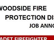 CADET FIREFIGHTER Woodside Fire Protection District (CA)