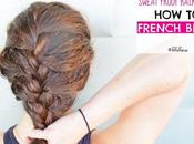 Sweat Proof Hairstyles: French Braid